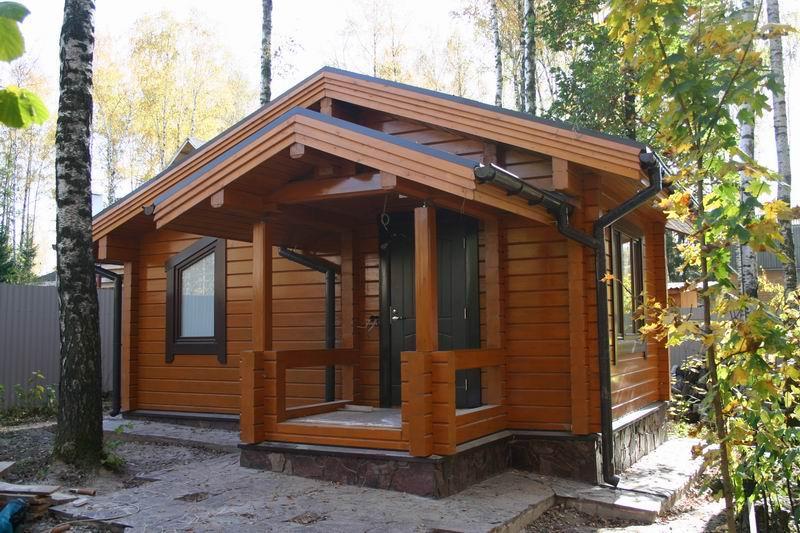 Строительство деревянных домов под ключ в Москве  проекты